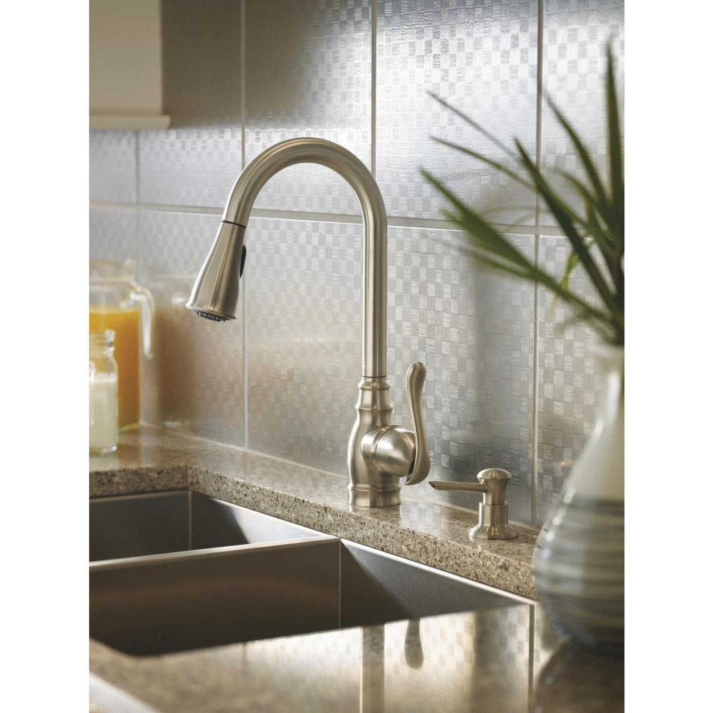 Moen Anabelle Single Handle Lever Pull-Down Kitchen Faucet ...