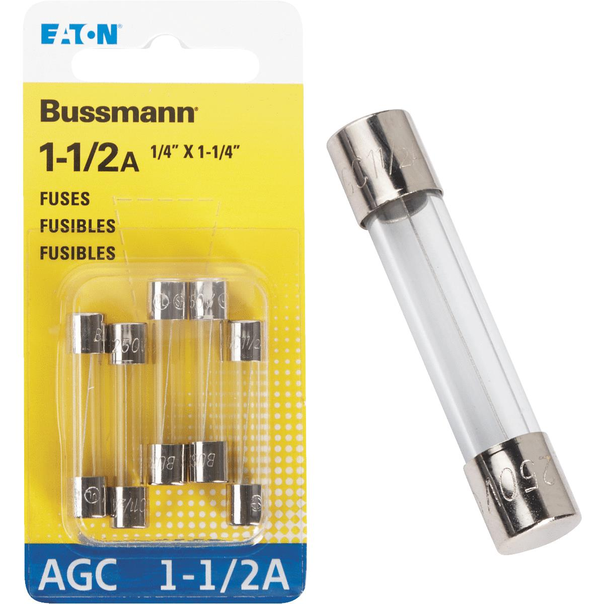 Boat Marine Auto RV 4 Amp Glass Fuse Pack of 5 AGC